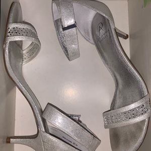 Silver Adrianna Papell Avril Shoe